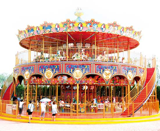 Double Decker Carousel for South Africa